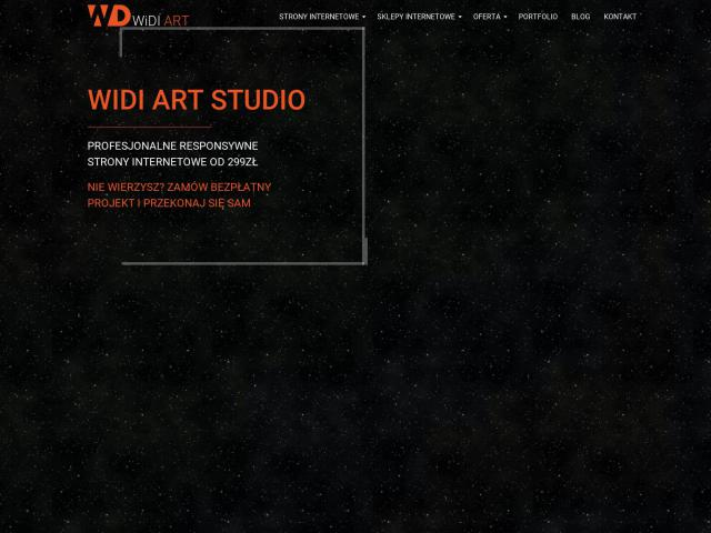 Strona na Wordpress | Widi Art